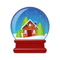 Vector illustration of a SnowBall