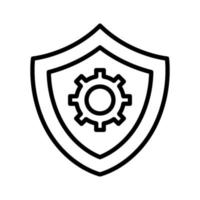 Security Settings Icon vector