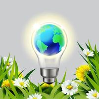 Save environment by natural energy vector