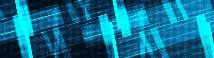fondo de tecnología de red panorámica vector
