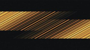 fondo de tecnología dorada de alta velocidad vector
