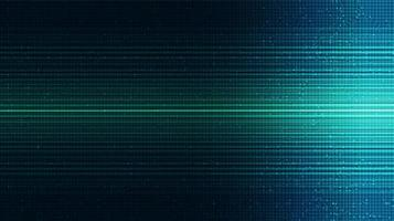 fondo de tecnología de luz verde vector
