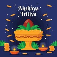 Akshaya Tritiya Background vector