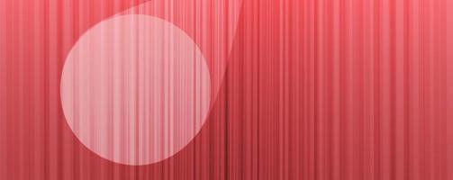 vector de fondo de cortina rosa con luz de escenario