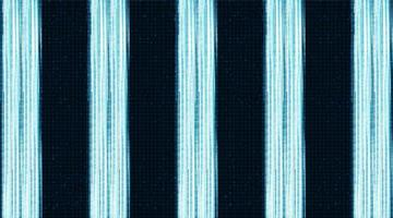 Luz cibernética sobre fondo de circuito de microchip vector