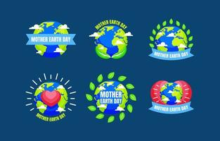 Mother Earth Day Badge