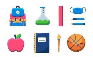 Go To School Icon vector