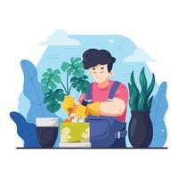 Gardening Concept Design