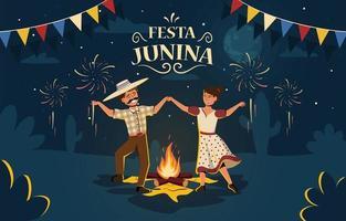 Festa Junina Concept Design vector