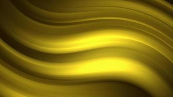 fundo de linhas douradas gradientes fluidas distorcido