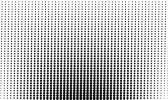 Abstract Black Dots Pattern vector