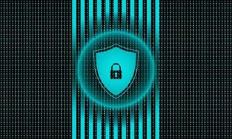 Cyber Security Technology Background vector