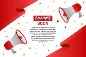Red Coming Soon Banner