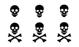 Skull Vector Icons Collection