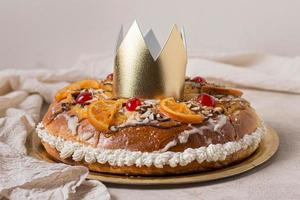 Front view of Epiphany day food photo