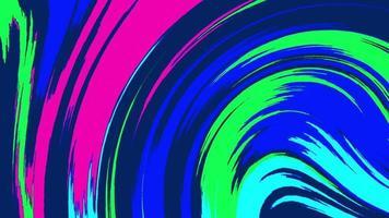 fundo abstrato de linhas fluidas distorcidas coloridas