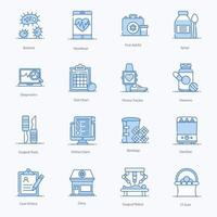 Medical And Healthcare Elements vector