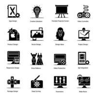elementos del proceso creativo vector