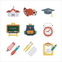 Education Icon Collection vector