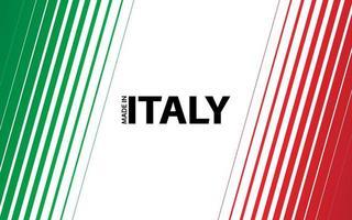 fondo de vector moderno. rayas diagonales en el aspecto de la bandera italiana. hecho en Italia
