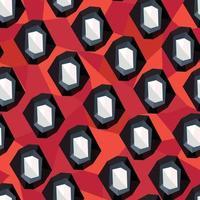 Abstract geometric modern ornament. Seamless geometrical pattern vector