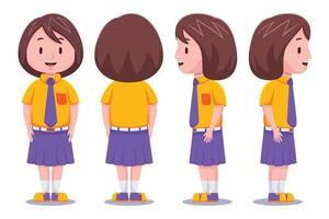 Cute School Girl  Set
