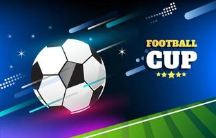 Football Background with Effect vector