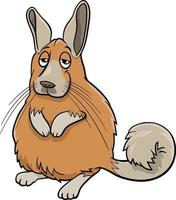 cartoon funny viscacha comic animal character