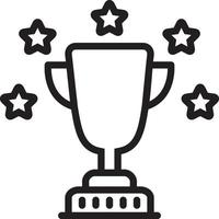 Line icon for best vector