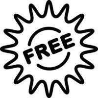 icono de línea gratis vector