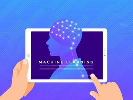 Machine learning technology vector