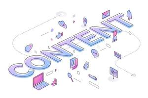 Business Word Content vector