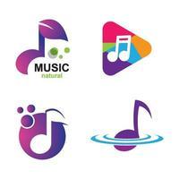 imagenes logo musica vector