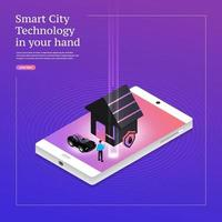 Smart City Technology vector