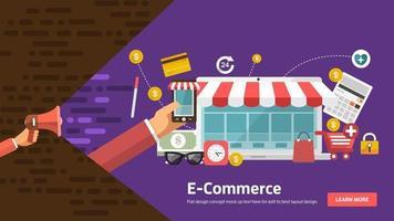 Banner digital marketing vector