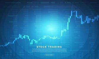 Stock trader exchange vector
