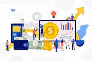 Teamwork Business Success vector