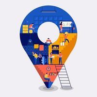 Workingspace create location vector