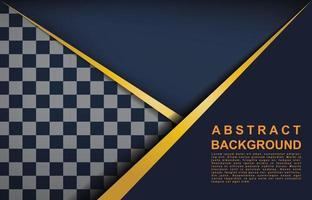 Modern Black abstract design geometric background vector