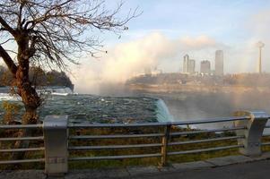 Niagara Falls at dawn photo