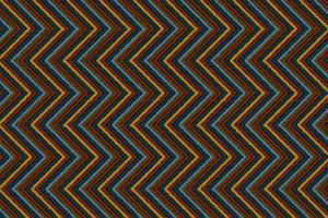 diseño tradicional geométrico sin fisuras patrón bordado. vector