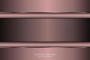 Luxury metallic dark pink background vector