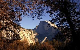 Yosemite in the fall season
