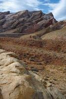Geological range in the desert photo