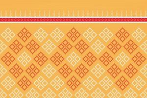 Geometric ethnic oriental seamless pattern traditional background. vector