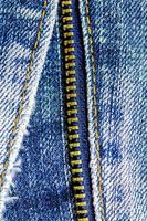 Textured jeans background photo