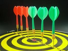Dart board games photo