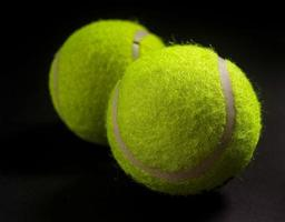 foto de pelota de tenis