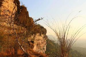 paisaje diurno de tailandia foto