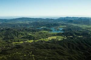 Aerial view of the Central Coast of California photo